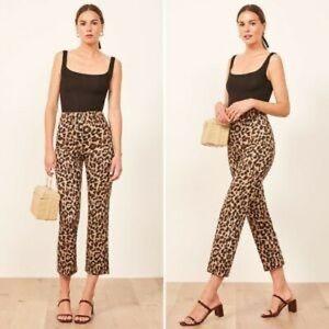 Vintage Bunchill Leopard Straight Leg Pants